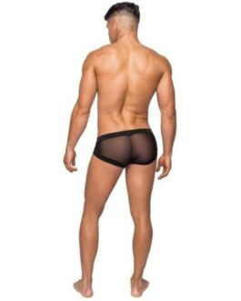 Hoser Stretch Mesh Micro Mini Short Black XL