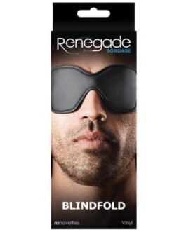Renegade Bondage Blindfold – Black