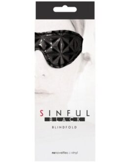 Sinful Blindfold – Black