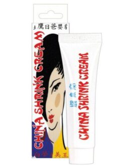 China Shrink Cream Soft Packaging – .5 oz