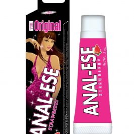 Anal-Ese Soft Packaging – .5 oz Strawberry