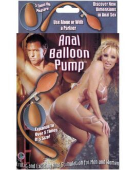 Anal Balloon Pump – Inflatable