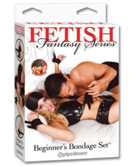 Fetish Fantasy Series Beginner's Bondage Set – Black