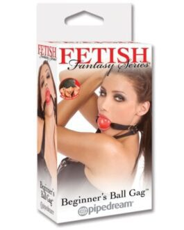 Fetish Fantasy Series Beginner Ball Gag – Red