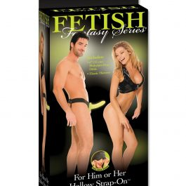 Fetish Fantasy Series For Him or Her Hollow Strap On – Glow In The Dark