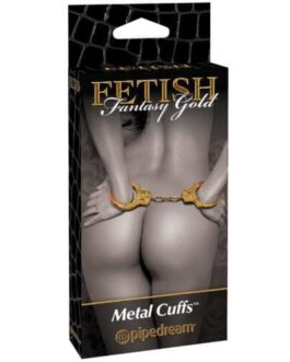 Fetish Fantasy Gold Metal Cuffs – Gold