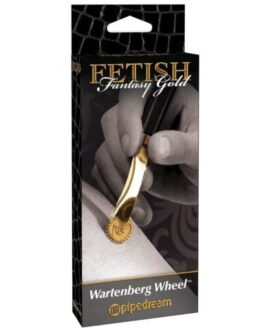 Fetish Fantasy Gold Wartenberg Wheel – Gold