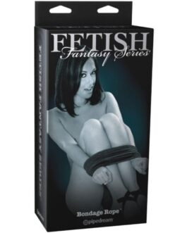 Fetish Fantasy Limited Edition Bondage Rope – Black