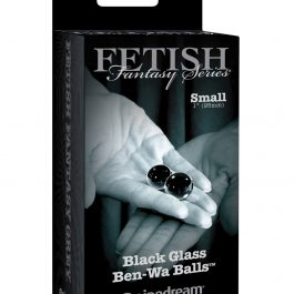 Fetish Fantasy Limited Edition Black Glass Ben-Wa Balls – Small