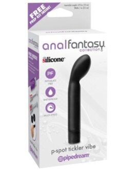 Anal Fantasy Collection P Spot Tickler Vibe – Black
