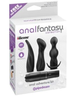 Anal Fantasy Collection Anal Adventure Kit – Black