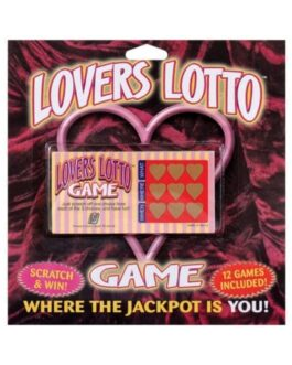 Lovers Lotto Scratch Ticket Game – Pack of 12 Cards