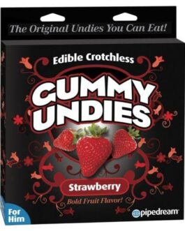 Edible Male Gummy Undies – Strawberry