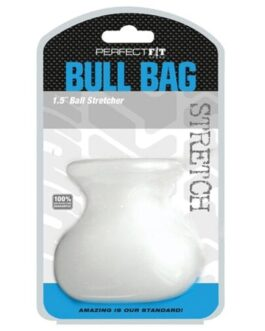 """Perfect Fit Bull Bag 1.5"""" Ball Stretcher – Clear"""