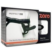 "Perfect Fit Zoro 5.5"" Strap-On – Black"