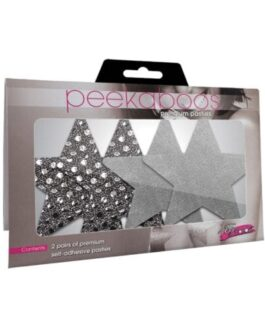 Dark Angel Stars – Silver Pack of 2