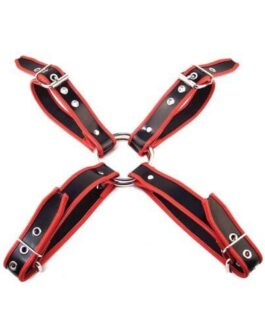 Rouge Chest Harness Large – Black/Red