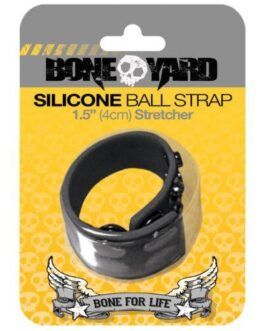 Boneyard Ball Strap – Black