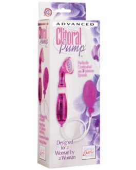 Intimate Pumps Advanced Clitoral Pumps- Pink
