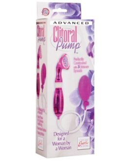 Intimate Pumps Advanced Clitoral Pumps- Purple