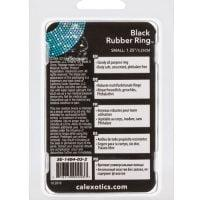 Black Rubber Ring – Small
