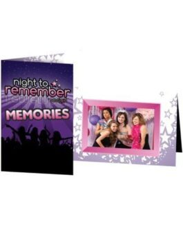 Night to Remember Photo Frame by sassigirl – Pack of 6