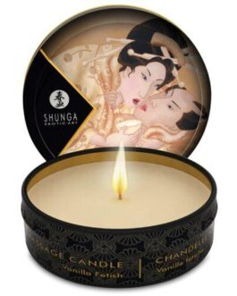 Shunga Desire Mini Candlelight Massage Candle – 1 oz Vanilla