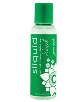 Sliquid Naturals Swirl Lubricant – 2 oz Green Apple