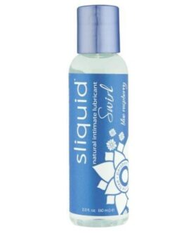 Sliquid Naturals Swirl Lubricant – 2 oz Blue Raspberry