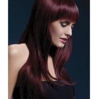 Smiffy The Fever Wig Collection Sienna – Black Cherry