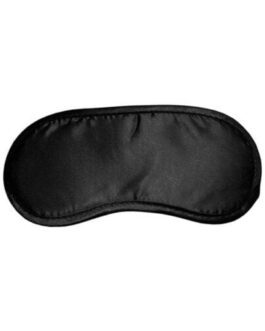 Sex & Mischief Satin Blindfold – Black