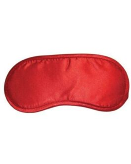 Sex & Mischief Satin Blindfold – Red