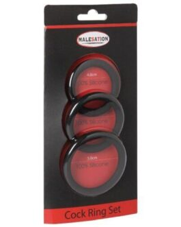 Malesation Cock Ring Set – Pack of 3