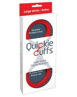Quickie Cuffs Large – Red