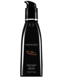 Wicked Sensual Care Heat Warming Sensation Waterbased Lubricant – 2 oz
