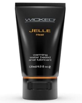 Wicked Sensual Care Jelle Warming Waterbased Anal Gel Lubricant – 4 oz
