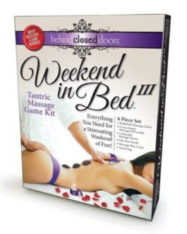 Weekend in Bed III Tantric Massage Kit