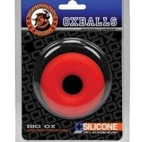 Oxballs Big Ox Cockring – Red Ice