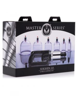 Master Series Sukshen Cupping Set - Set of 6