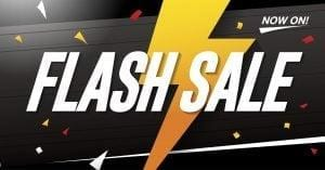Flash Sale – This Weekend Only
