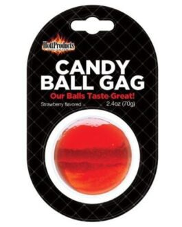 Candy Ball Gag – Strawberry