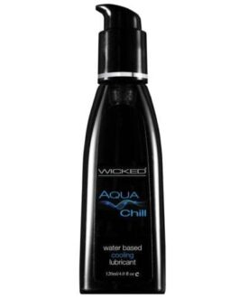 Wicked Sensual Care Chill Cooling Waterbased Lubricant – 4 oz