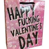 Happy Fucking Valentines Day Gift Bag
