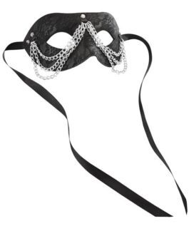 Sincerely Chained Lace Mask