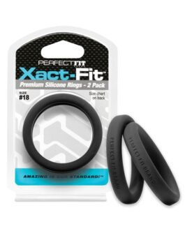 Perfect Fit Xact Fit #18 – Black Pack of 2