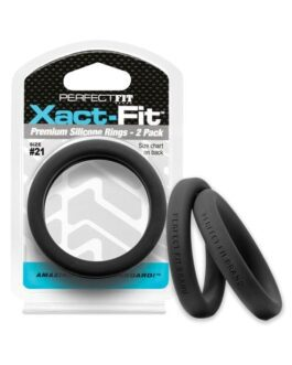 Perfect Fit Xact Fit #21 – Black Pack of 2